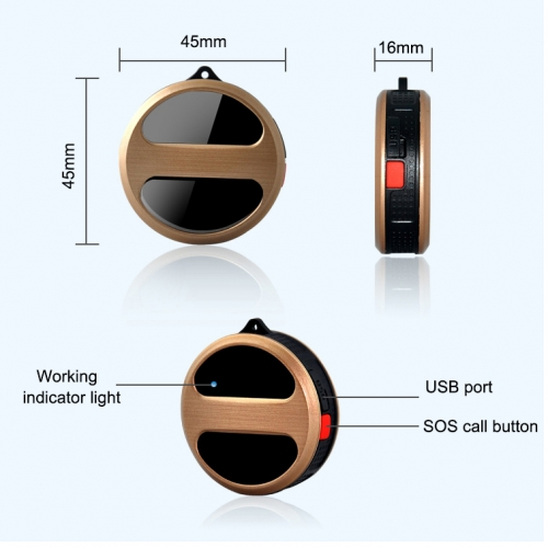 T8S Mini GPS Tracker
